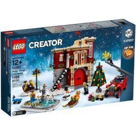 Lego Creator 10263 Hasičská stanice v zimní vesnici