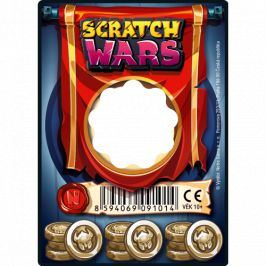 Alltoys Scratch Wars - Karta Zbraně