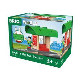 Brio Brio World 33840 Nástupiště s vlastním hlášením