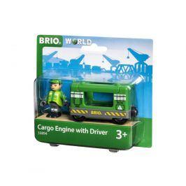 Brio Brio World 33894 Nákladní lokomotiva se strojvedoucím