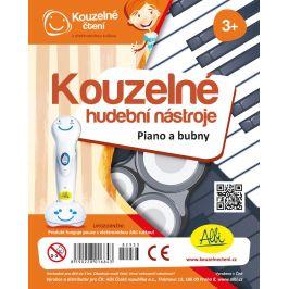 Kouzelné čtení Kouzelné nástroje - Piano a buben