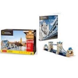 CubicFun 3D puzzle National Geographic: Tower Bridge 120 ks