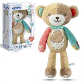 Plyšové chrastítko medvěd