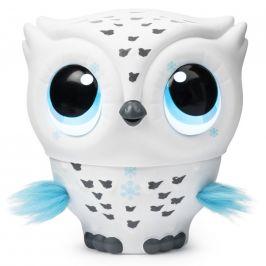 Spin Master Owleez létající sova bílá