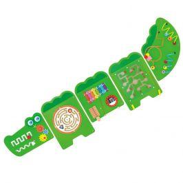 Alltoys Hra dřevěná na stěnu - krokodýl