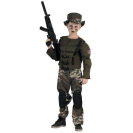 HM studio Kostým super voják 130-140 cm