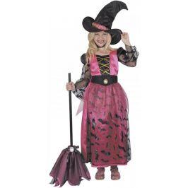 Kostým čarodějka 130-140 cm
