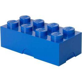 LEGO box na svačinu 100x200x75mm modrý
