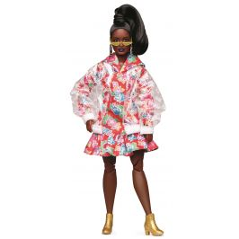 Mattel Barbie ve vinylovém kabátku módní deluxe