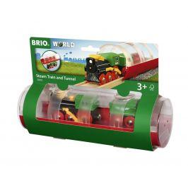 Brio Brio World 33892 Tunel a parní vlak
