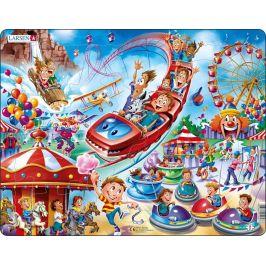 Alltoys Puzzle Zábavní park 17 dílků