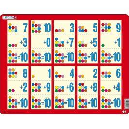 Alltoys Puzzle Sčítání do 10 II.10 dílků