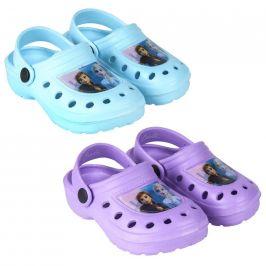 Alltoys Plážové Clogs Ledové království 2 modrá/fialová