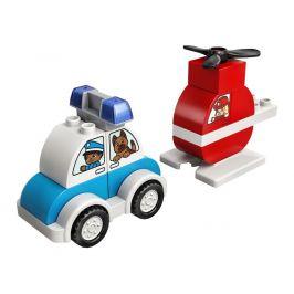 LEGO® DUPLO 10957 Hasičský vrtulník a policejní auto