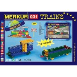 Stavebnice MERKUR  Železniční modely  031