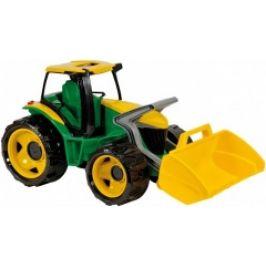 Traktor se lžící, zeleno žlutý