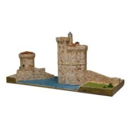 AEDES ARS Stavebnice TOURS DE LA ROCHELLE - Přístavní věže ve Francii