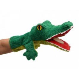 Krokodýl měkký klapací maňásek