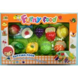Mac Toys Set potravin na suchý zip 1