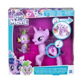 Hasbro My Little Pony Hrací set se zpívající Twilight Sparkle a Spikem