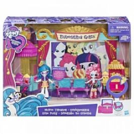 Hasbro My Little Pony Equestria Girls Tematický hrací set - kino