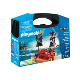 Playmobil 5655 přenosný box - Pirát na voru