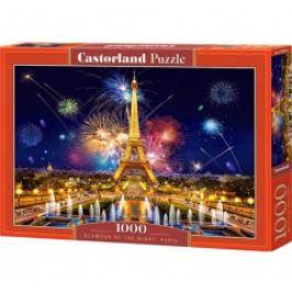 Puzzle CASTORLAND - Kouzlo noci v Paříži