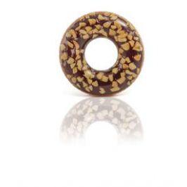 INTEX 56262 nafukovací kruh čokoládový donut 1,14m