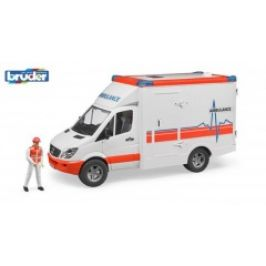 Bruder Záchranná auta - Ambulance Sprinter s řidičem