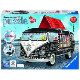Ravensburger 3D puzzle Autobus pojízdné občerstvení 162 dílků