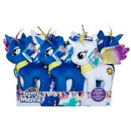 Hasbro My Little Pony Plyšový poník 25cm s hřívou na česání