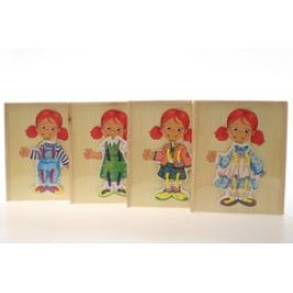 Lamps 56259 Dřevěné oblékání holka