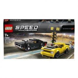 LEGO Speed Champions 75893 2018 Dodge Challenger SRT Demon a 1970 Dodge Charger R/T