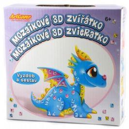 Mozaikové 3D zvířátko - draci - krabička
