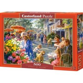 Puzzle CASTORLAND - Ulice snů 500 dílků