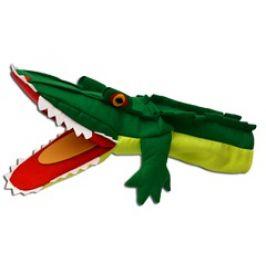 Krokodýl 42cm, klapací maňásek