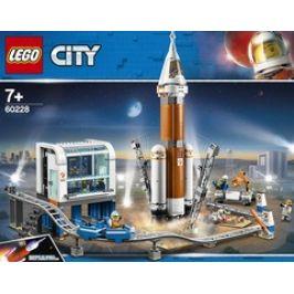 LEGO City 60228 Space Port Start vesmírné rakety
