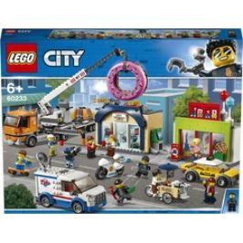 LEGO City 60233 Town Otevření obchodu s koblihami