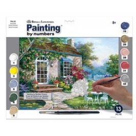 Malování podle čísel - Okrasná terasa