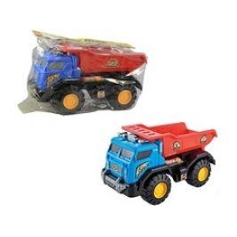 MaDe Auto stavební, volná kola, 39,5 x 22 x 19,5 cm
