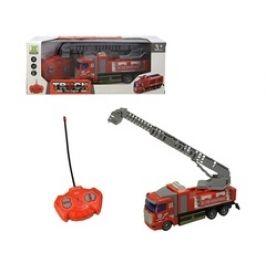 MaDe Auto hasičské, na dálkové ovládání 4-kanál se světlem a zvukem, 18 cm