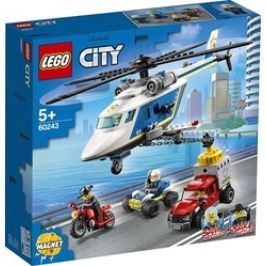 LEGO City 60243 Pronásledování s policejní helikoptérou
