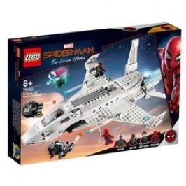 LEGO MARVEL Spider-Man 76130 Tryskáč Tonyho Starka a útok dronu