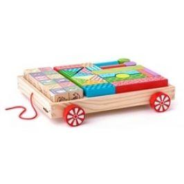 Woody Vozík s kostkami, 35 dílů