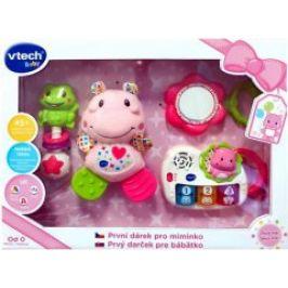 Vtech První dárek pro miminko - růžový