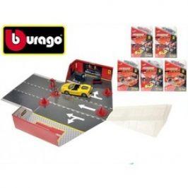 Bburago 1:43 Ferrari set box+1auto 6druhů 2barvy