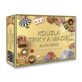 Kouzla, triky a magie - Zlatá edice - 150 triků