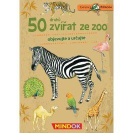 Mindok Expedice příroda: 50 druhů zvířat ze ZOO