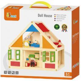 Viga Dřevěný domeček pro panenky