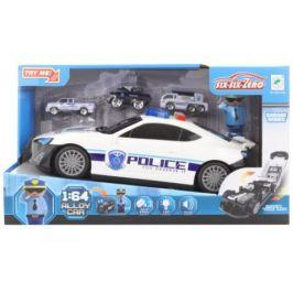 Policejní auto 2v1 na baterie